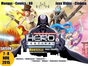 Affiche du Hero Festival 2015