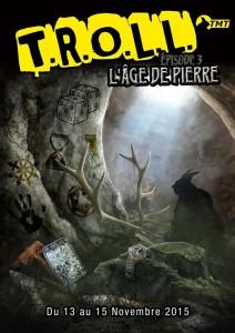 affiche de la convention  T.R.O.L.L 3ème édition